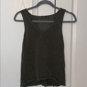 American Eagle - don't ask why knit tank